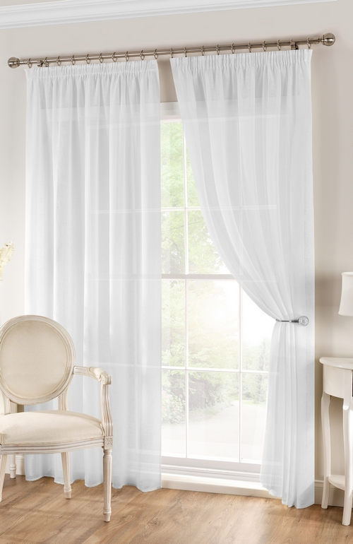 Unlined Voile Panel